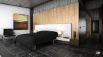 Tiled-bedroom