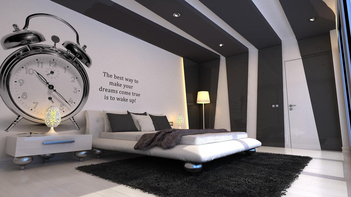 Un dormitor modern | Amenajari Interioare